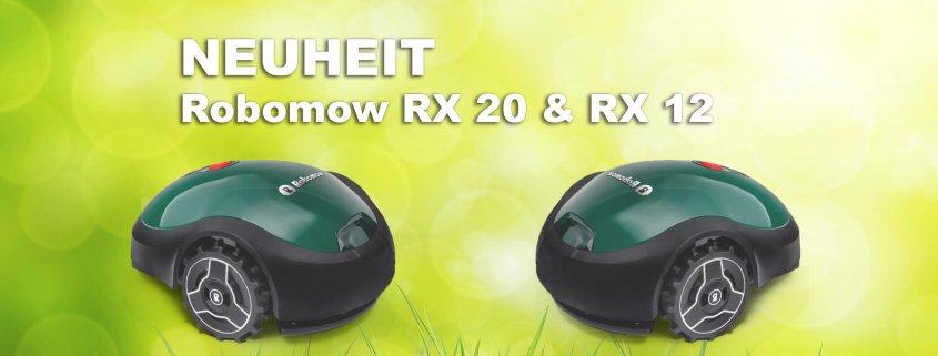 Neuheit Robomow RX