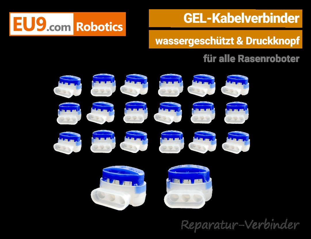 Rasenroboter-Mähroboter Gel-Drahtverbinder Kabelverbinder Robomow, Wolf, Cub Cadet, Automower, Ambrogio, Stiga EU9