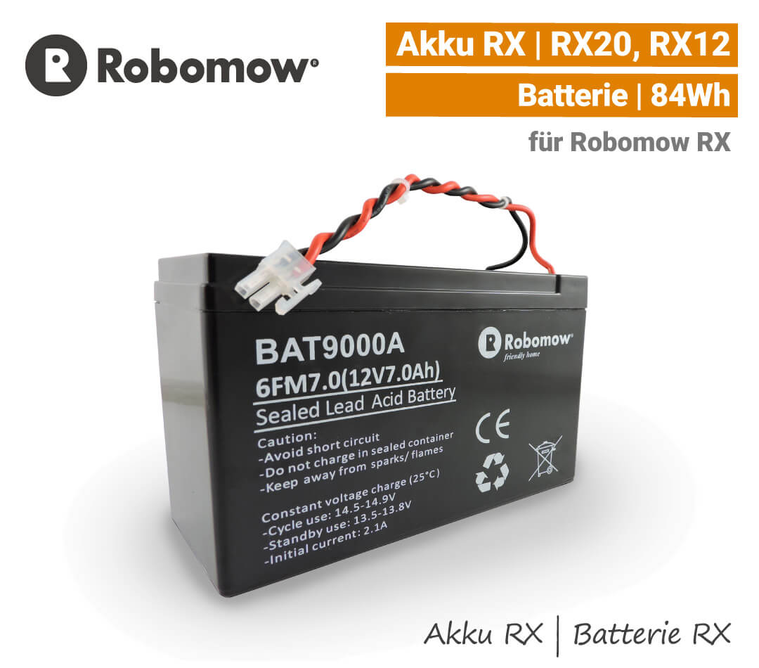 Robomow Akku RX Batterie RX20 RX12 Loopo S300 S150 Blei EU9