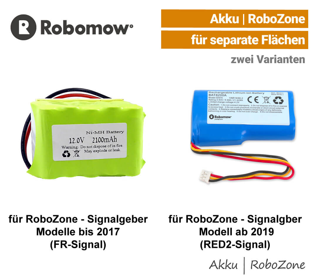 Robomow Akku RoboZone Signalgeber Perimeter-Schalter EU9