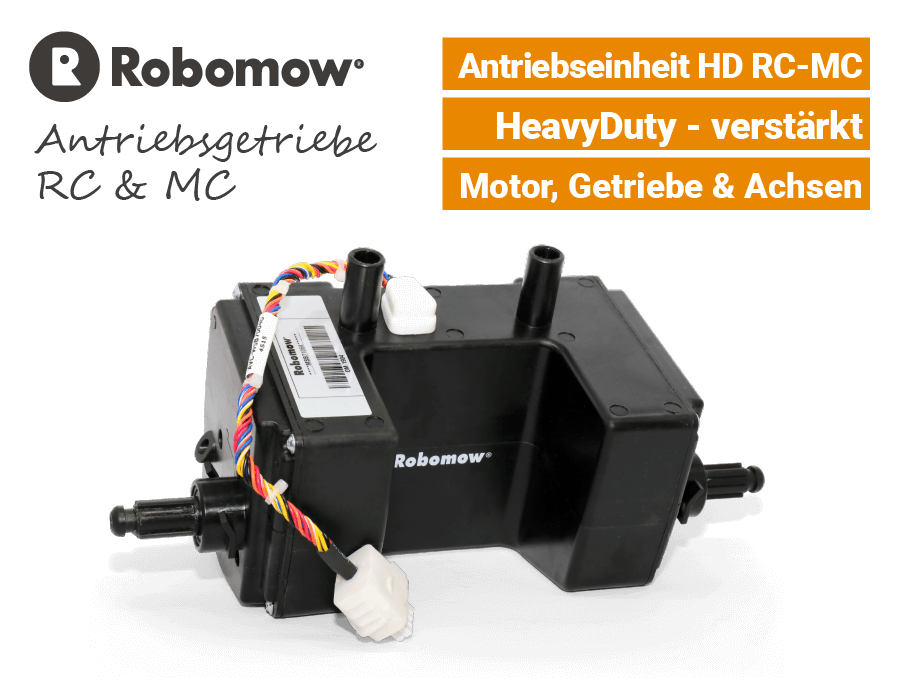 Robomow Antriebsgetriebe HD RC-MC SMSB7106A Antriebsmotor EU9