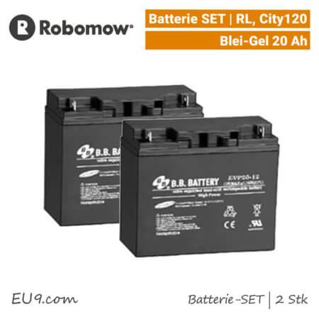 Robomow Batterie 20Ah Akku RL-City120-Tuscania EU9