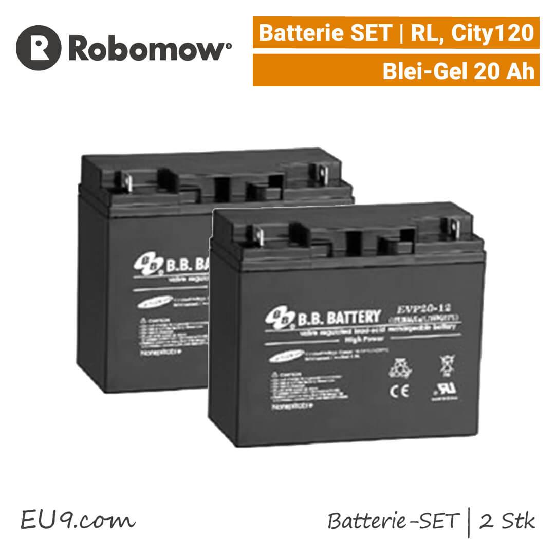 RL2000 AKKU BATTERIE 24V 20Ah für ROBOMOW Rasenmäh-Roboter RL1000