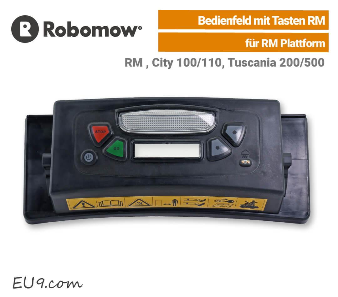 Robomow Bedienfeld RM mit Tasten Abdeckung EU9