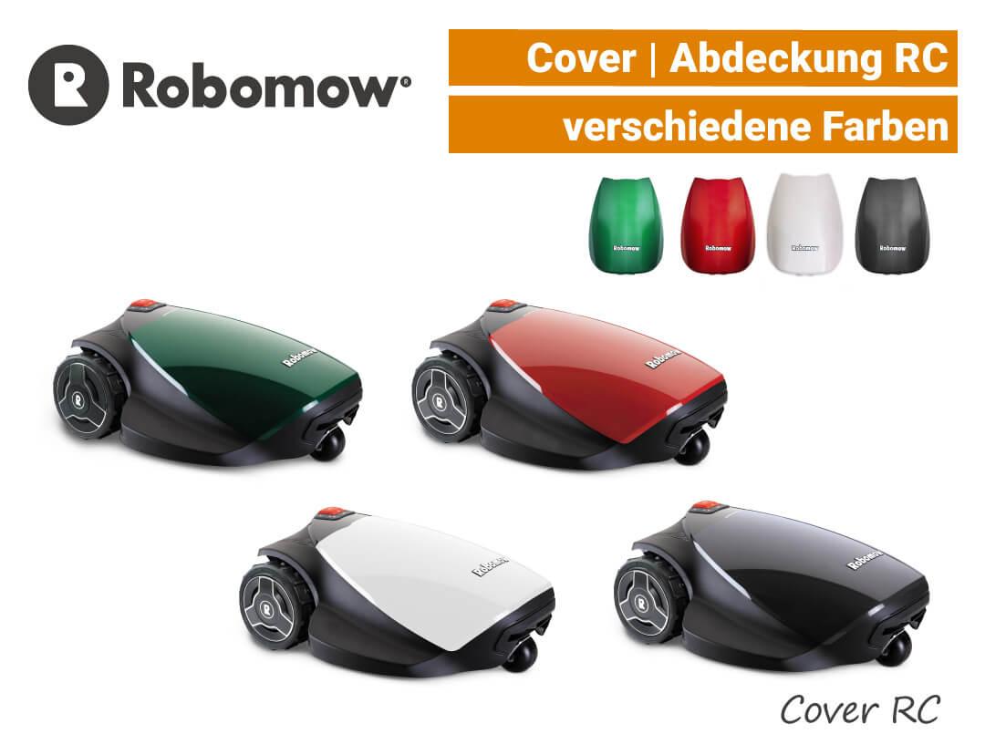 Robomow Cover RC - Abdeckung RC Grün Rot Weiß Schwarz EU9