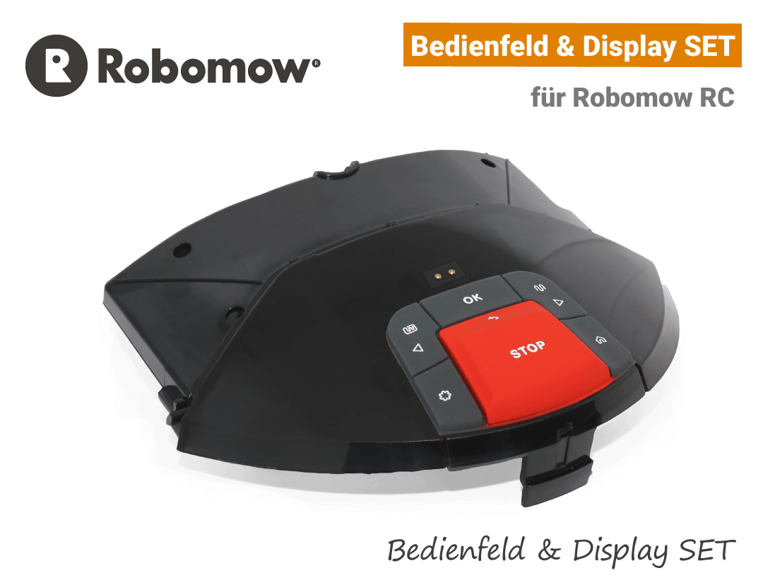 Robomow Display RC & Bedienfeld RC SET - Bedienpanel EU9