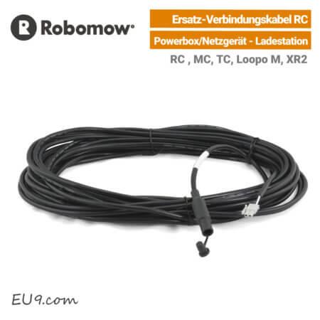 Robomow Ersatz-Verbindungskabel RC Netzgerät-Powerbox-Ladestation EU9