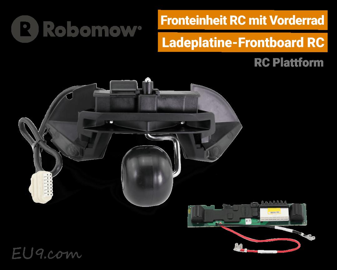 Robomow Fronteinheit RC - Frontrad RC - Frontboard-RC - Ladeplatine RC EU9