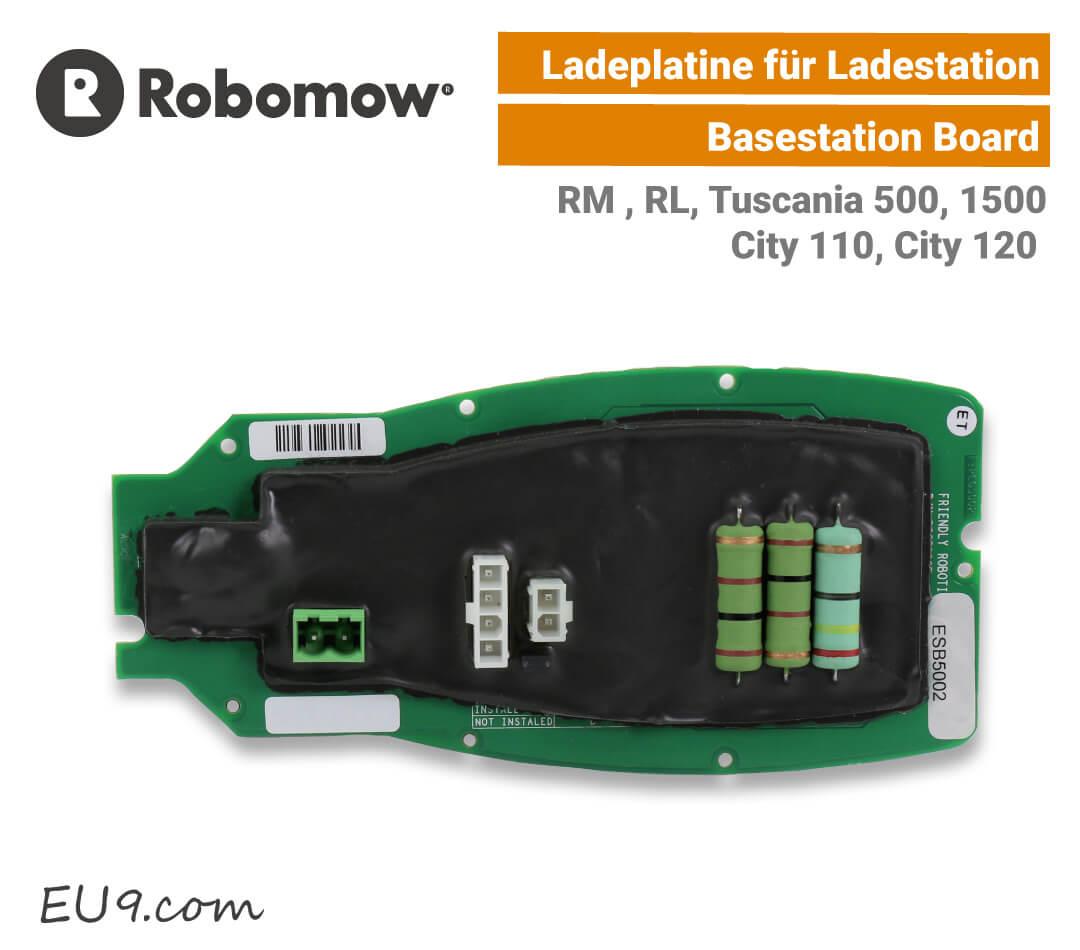 Robomow Ladeplatine RM-RL für die Ladestation Basestationboard RL-RM EU9