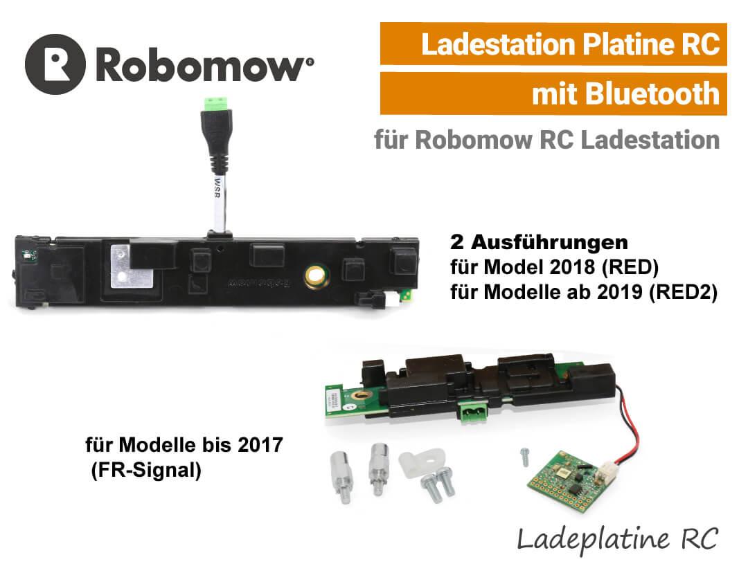 Robomow Ladestation-Platine RC Ladeplatine RC mit Bluetooth EU9