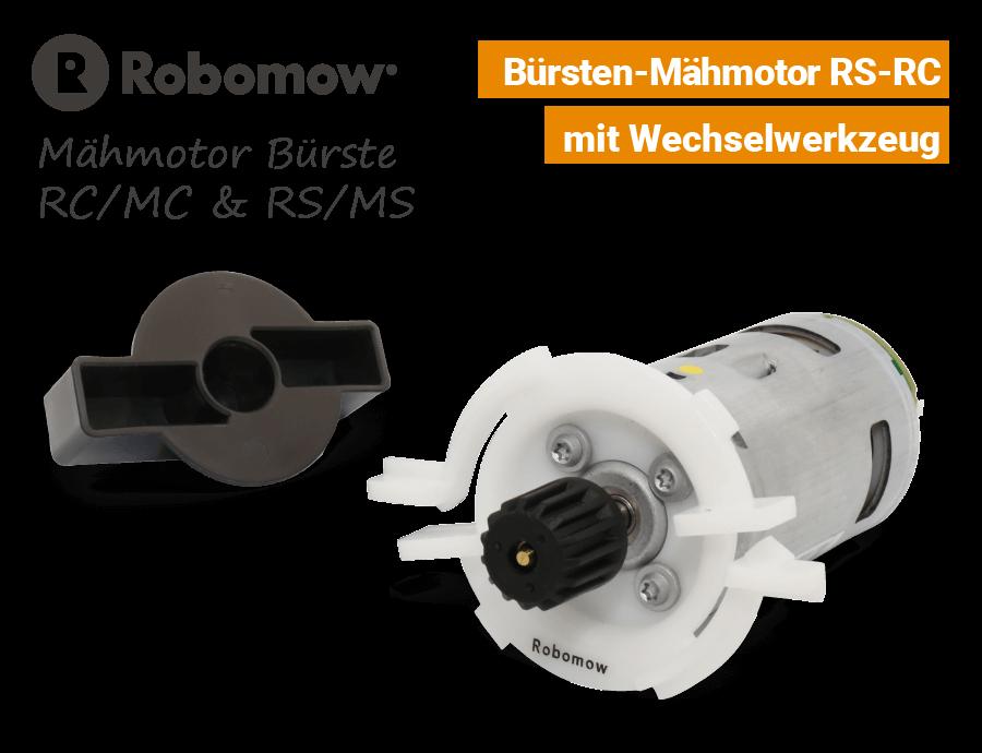 Robomow Mähmotor Bürste RC-MC RS-MS EU9