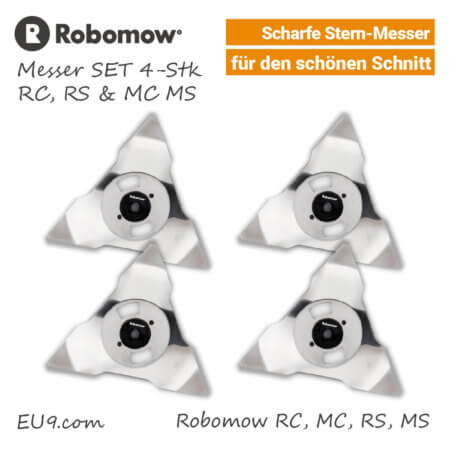 Robomow Messer RC RS MC MS 4-Stk SET MRK6101A EU9