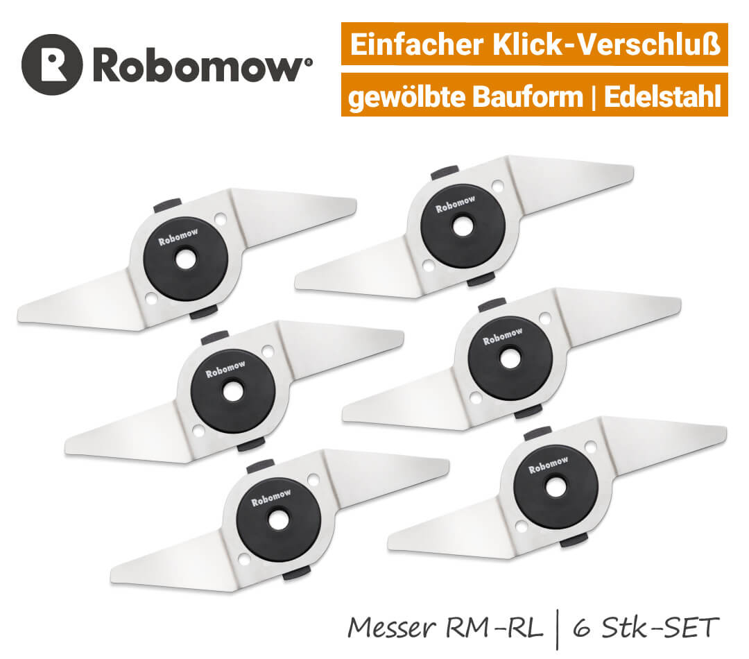Robomow Messer RM-RL-City 6-Stk SET EU9
