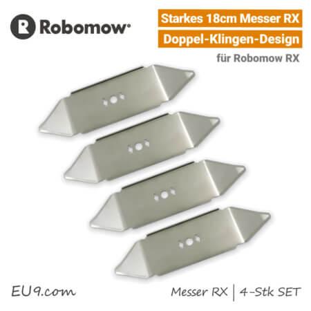 Robomow Messer RX 4-Stk-SET RX12 RX20 RX50 EU9