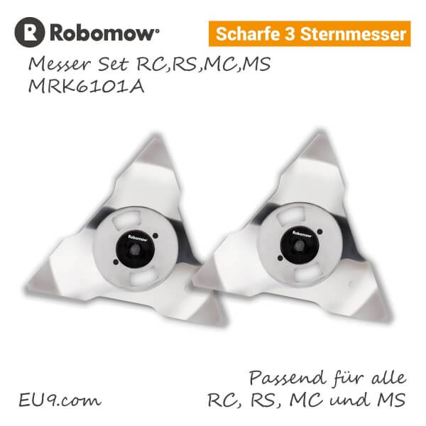Robomow Messer-Set RC-RS MC-MS MRK6101A