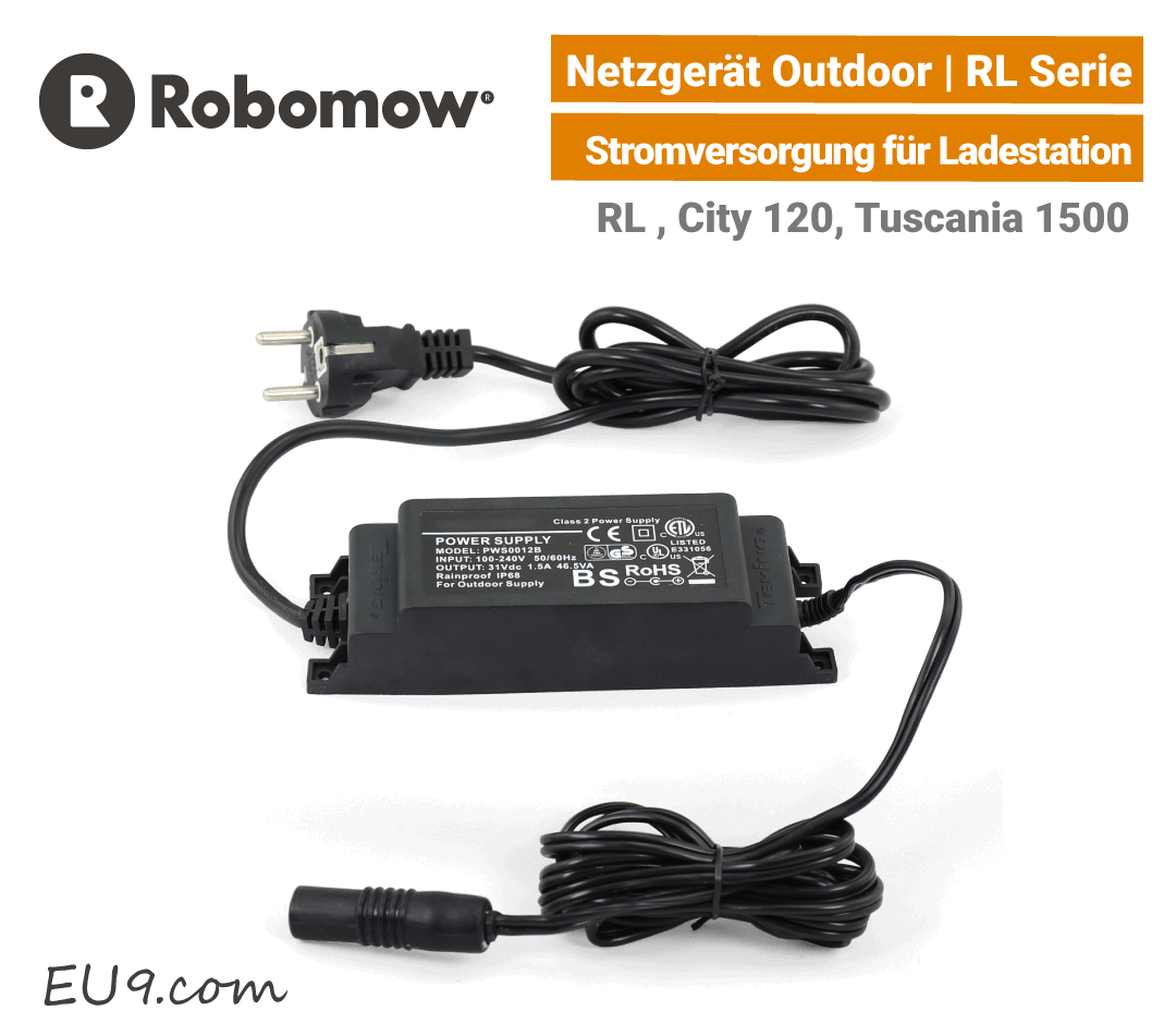 Robomow Netzgerät RL / Ladegerät RL 2000 für Ladestation - Outdoor EU9