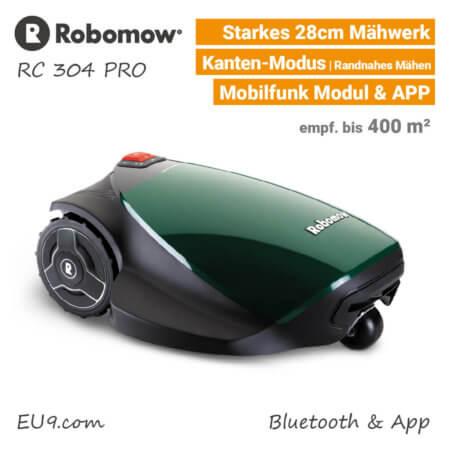 Robomow RC 304 Pro Rasenroboter-Mähroboter EU9