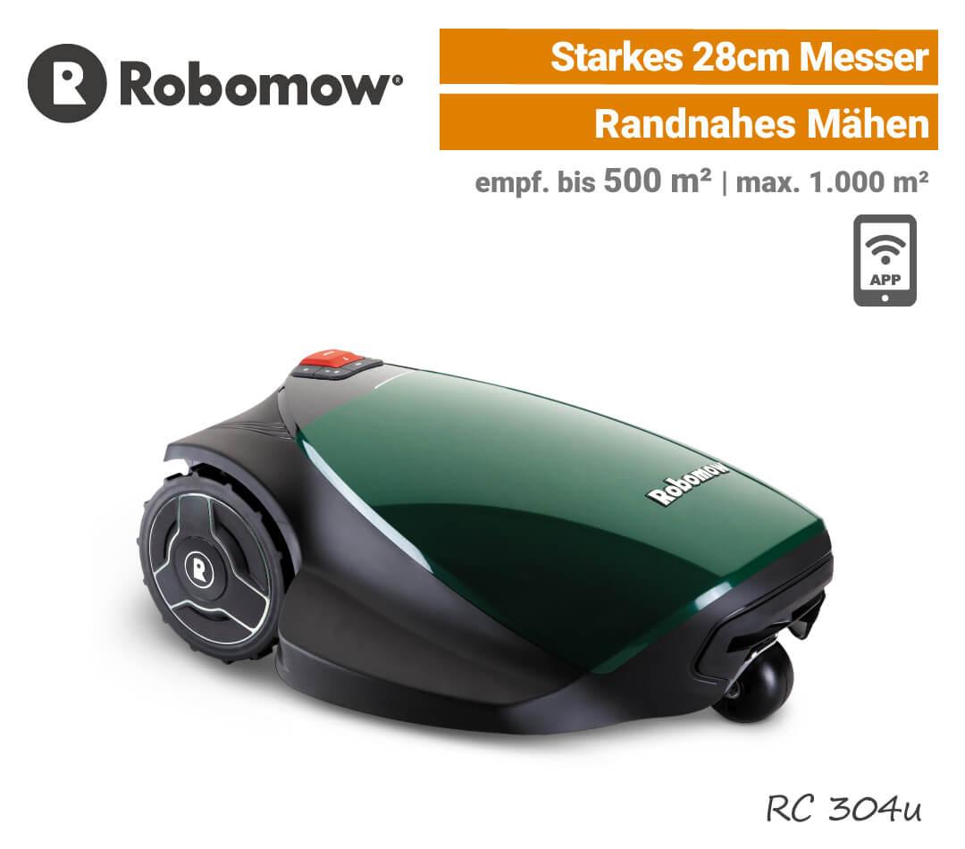 Robomow RC 304 u Mähroboter Rasenroboter Modell-2018 EU9