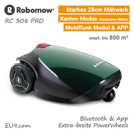 Robomow RC 308 Pro Rasenroboter-Mähroboter EU9