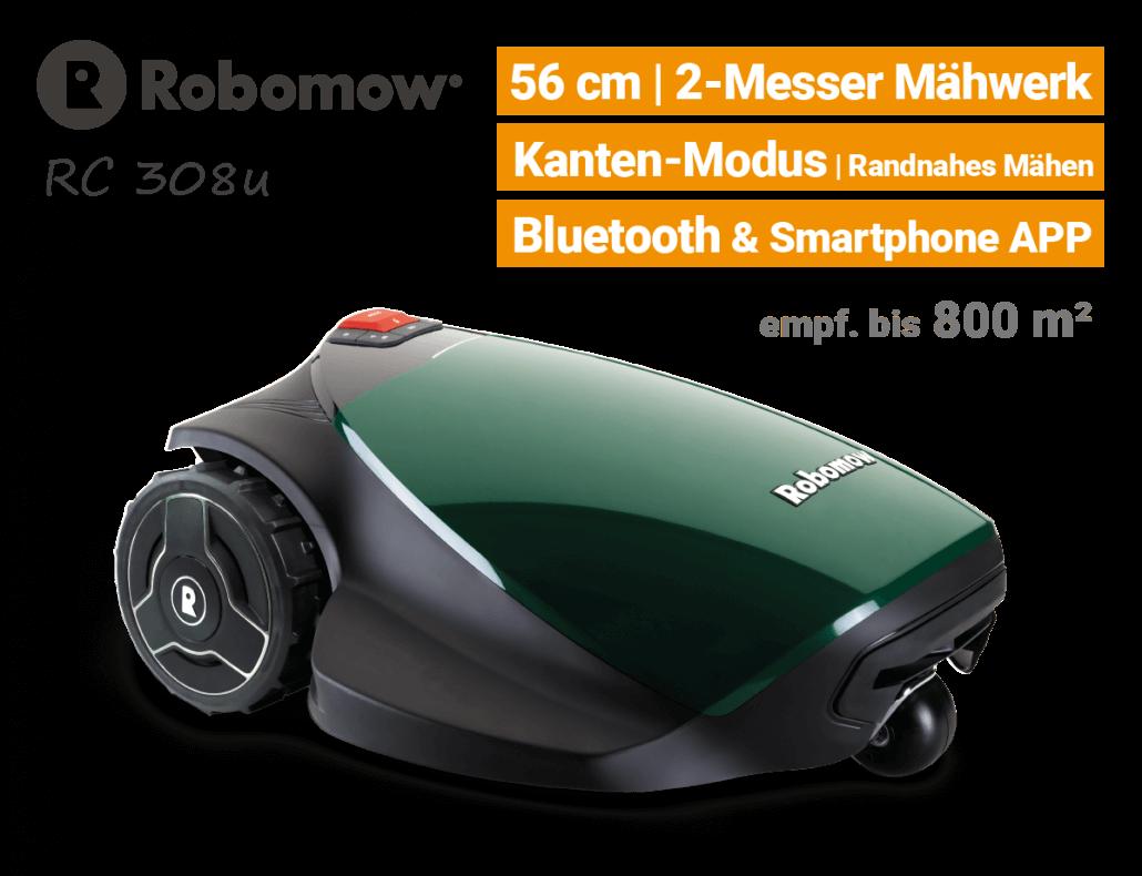 Robomow RC308 u Rasenroboter-Mähroboter EU9