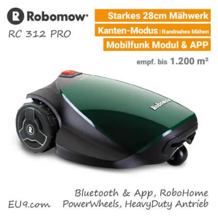 Robomow RC 312 Pro Rasenroboter-Mähroboter EU9