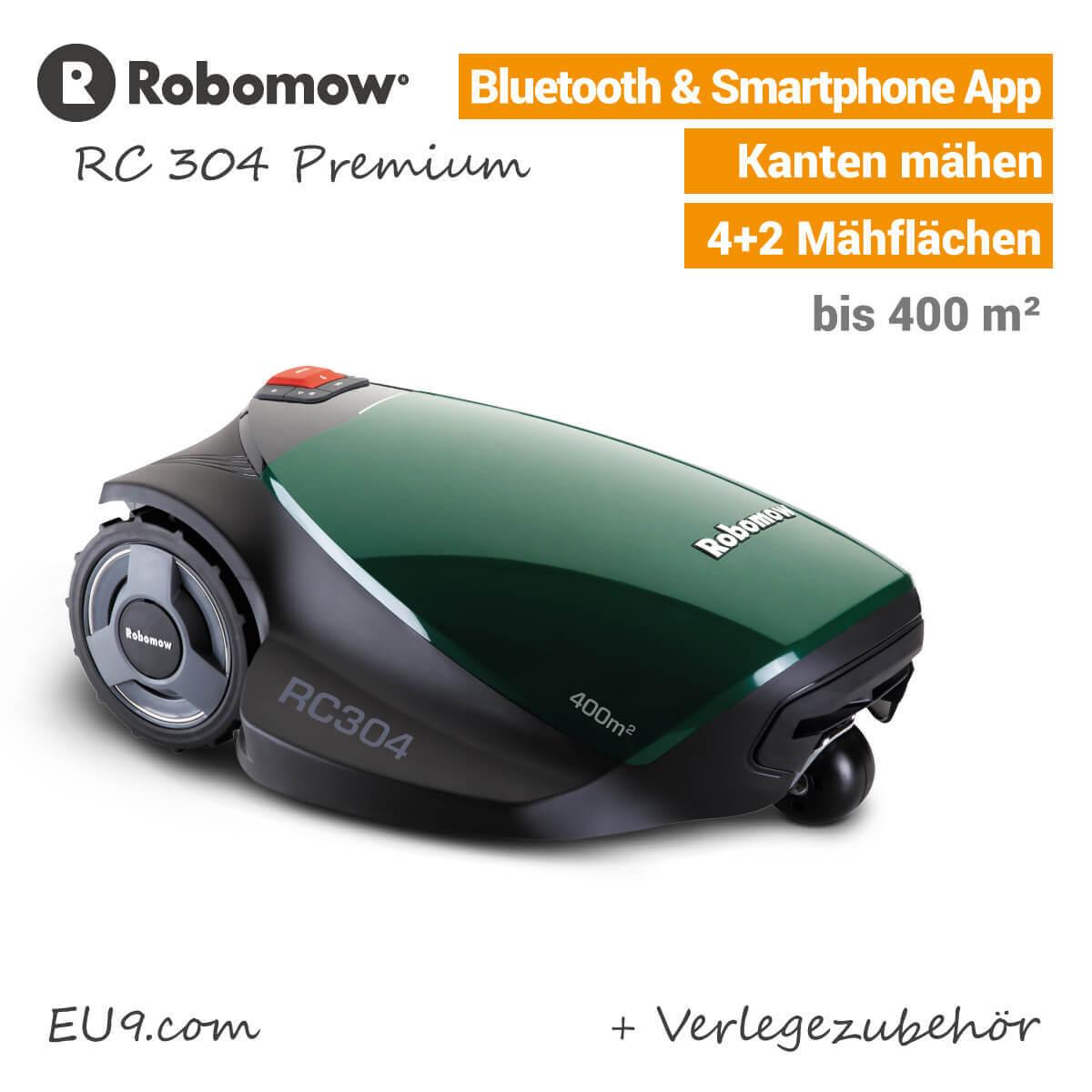robomow rc304 rasenroboter bei eu9 robotics kaufen. Black Bedroom Furniture Sets. Home Design Ideas