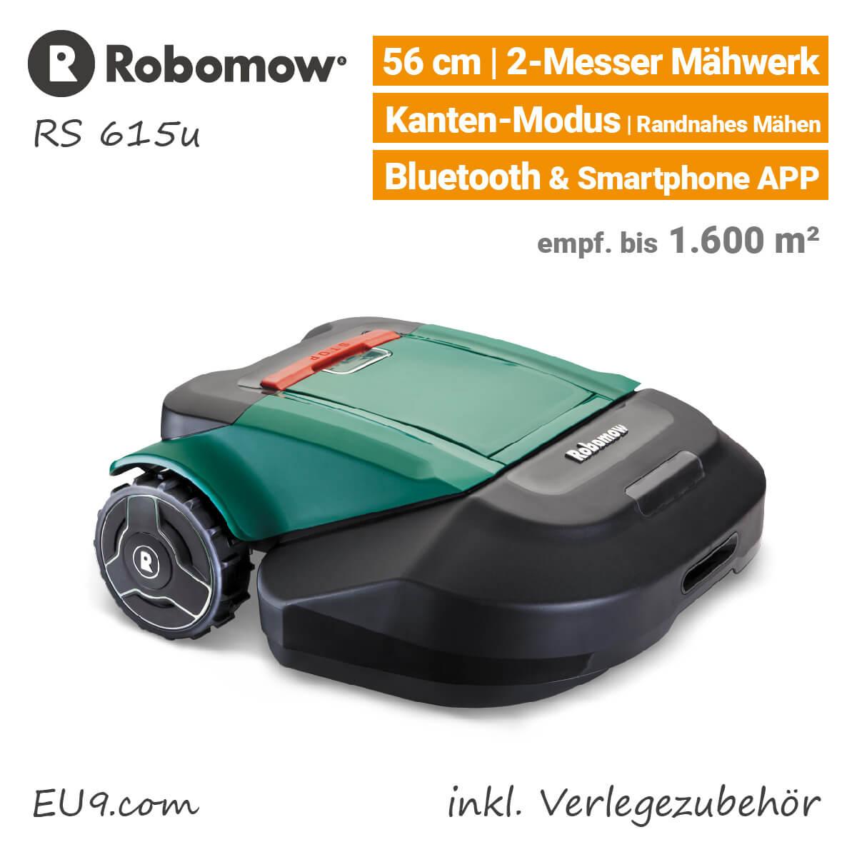 neu 2018 robomow rs615 u rasenroboter mit zubeh r kaufen. Black Bedroom Furniture Sets. Home Design Ideas