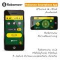 Robomow Mobilfunk Smartphone App