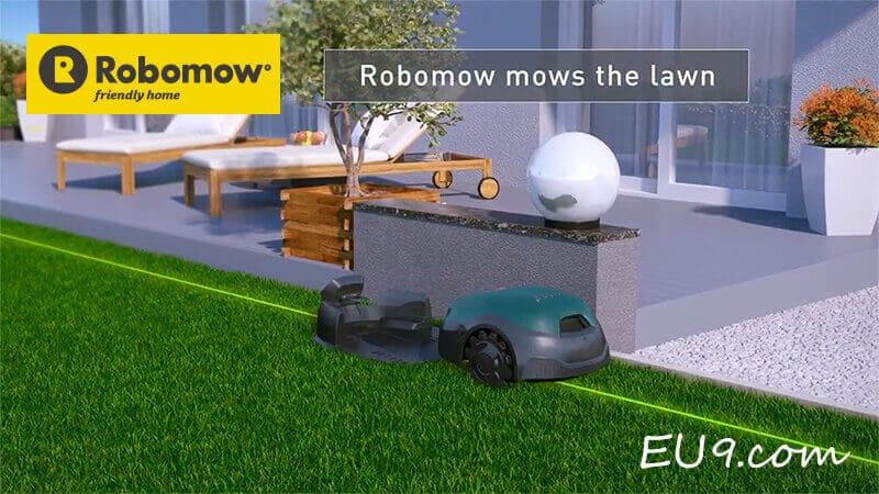 Robomow RT Video