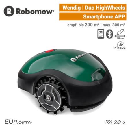 Robomow RX 20 u Mähroboter Rasenroboter APP EU9