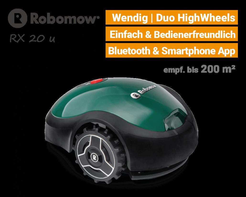 Robomow RX 20 u Rasenroboter-Mähroboter