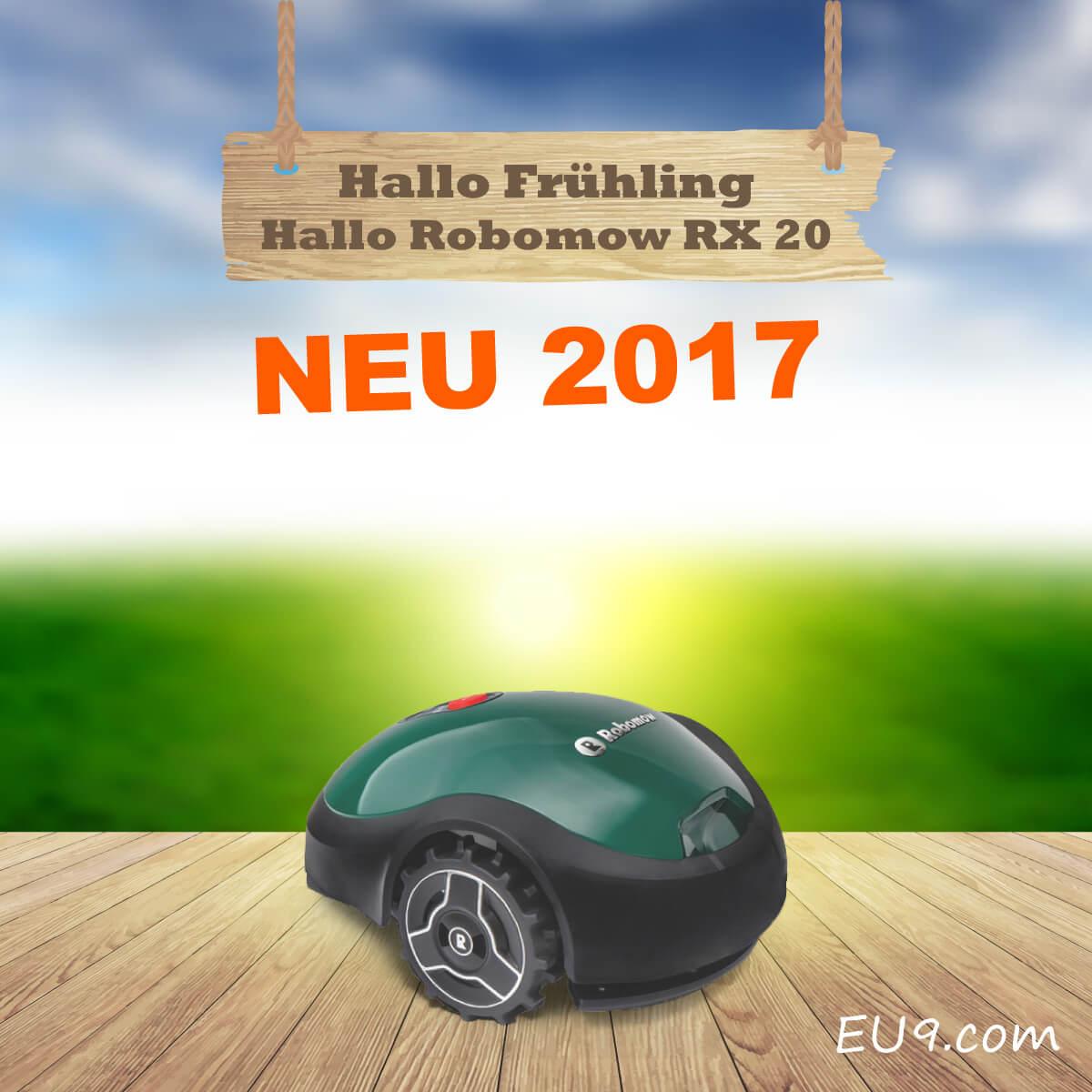 neu 2017 robomow rx20 rasenroboter m hroboter. Black Bedroom Furniture Sets. Home Design Ideas