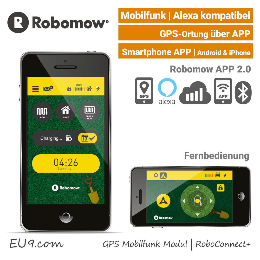 neu 2019 robomow rs 625 pro rasenroboter mit gps g nstig kaufen. Black Bedroom Furniture Sets. Home Design Ideas