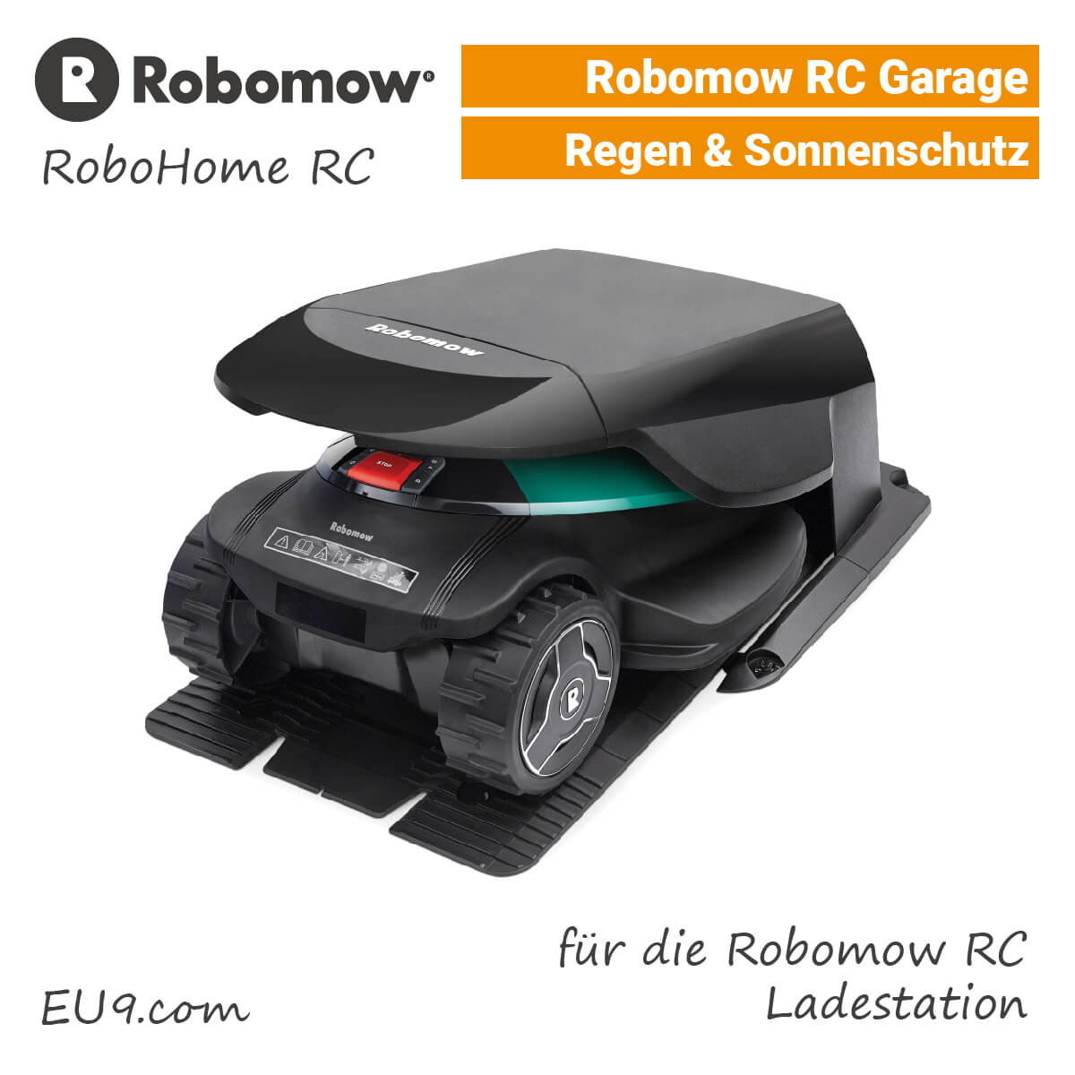 robomow robohome rc mc m hroboter garage bei eu9 kaufen. Black Bedroom Furniture Sets. Home Design Ideas