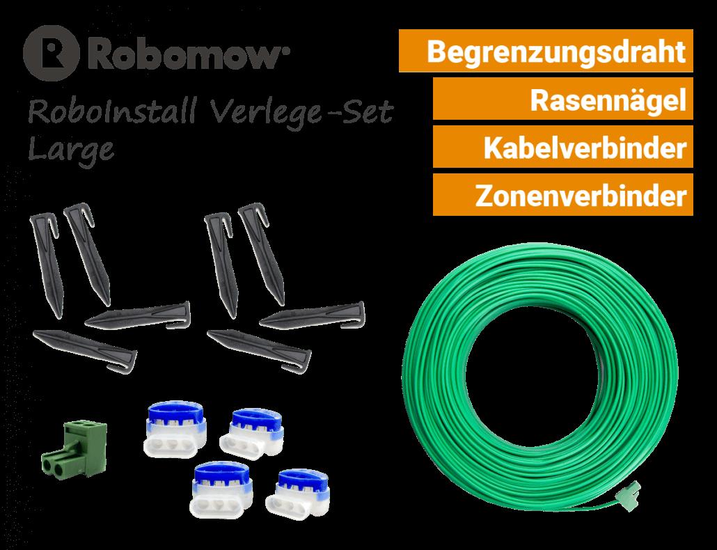 Robomow RoboInstall L - Verlege-SET Large - Installations-Kit - EU9