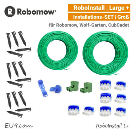 Robomow RoboInstall L Verlege-SET Large Installations-Kit gross EU9