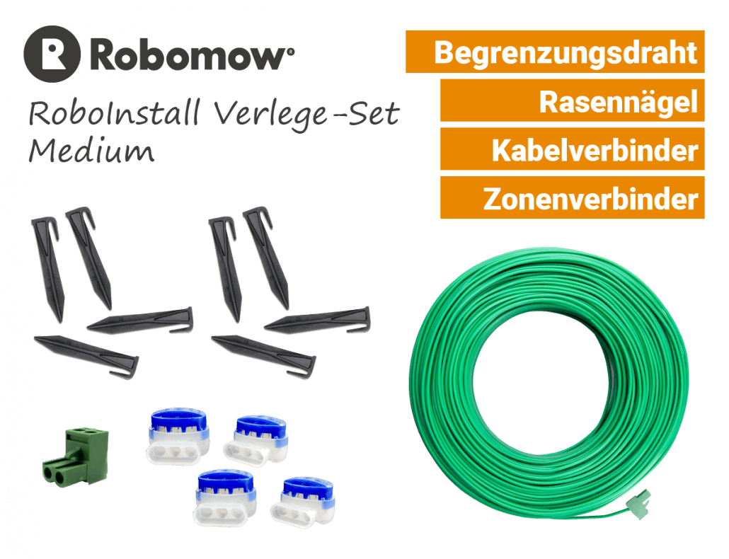 Robomow RoboInstall M - Verlege-SET Medium - Installations-Kit - EU9