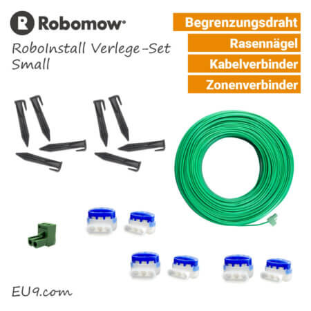 Robomow RoboInstall S - Verlege-SET Small - Installations-Kit - EU9