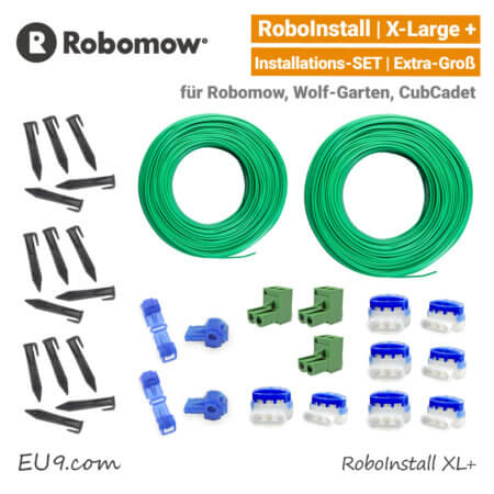 Robomow RoboInstall XL Verlege SET X-Large Installations-Kit extra gross EU9