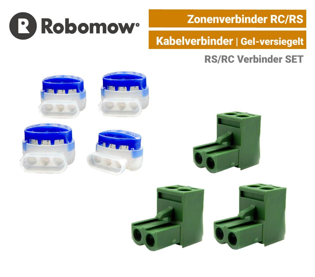 Robomow Zonenverbinder RC-RS Kabel-Anschlussklemme Ladestation SET EU9