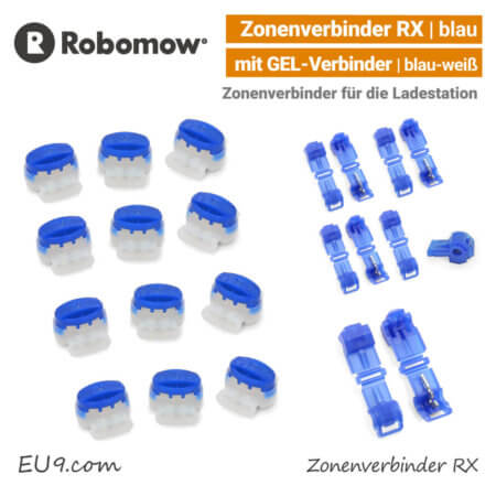 Robomow Zonenverbinder RX Loopo S XR1 Ladestation-Verbinder Gel-Verbinder EU9