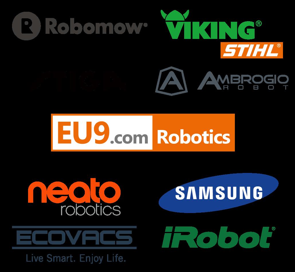Roboter Marken Saugroboter Rasenroboter EU9