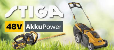 STIGA 48V Akku-Rasenmäher Gartengeräte 48 Volt EU9