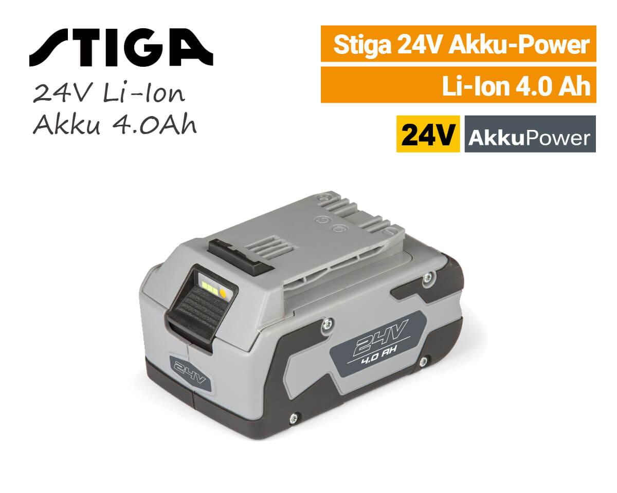 Stiga 24V Akku 4.0 Ah 24 Volt EU9