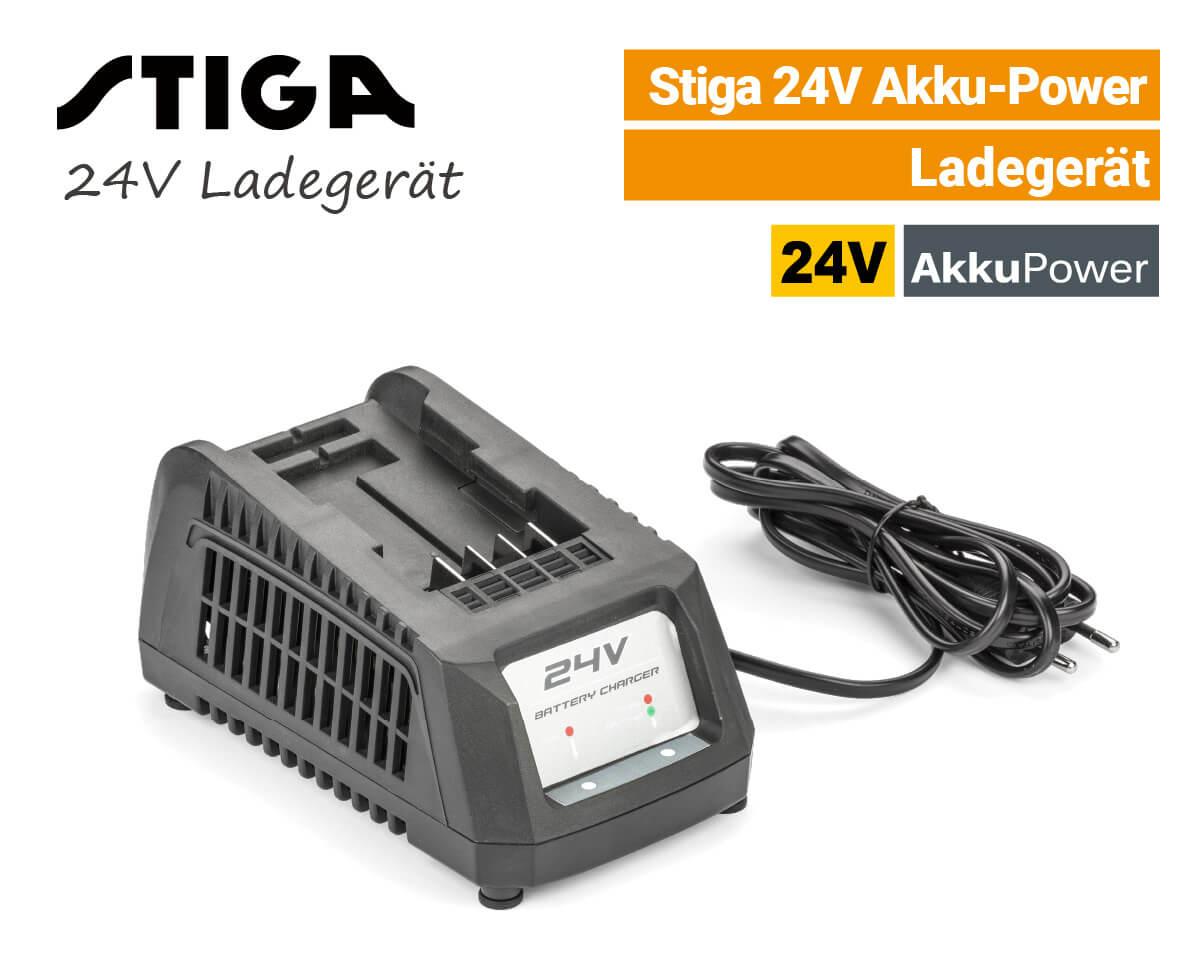 Stiga 24V Ladegerät 24 Volt EU9