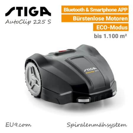 Stiga AutoClip 225 S Mähoboter EU9