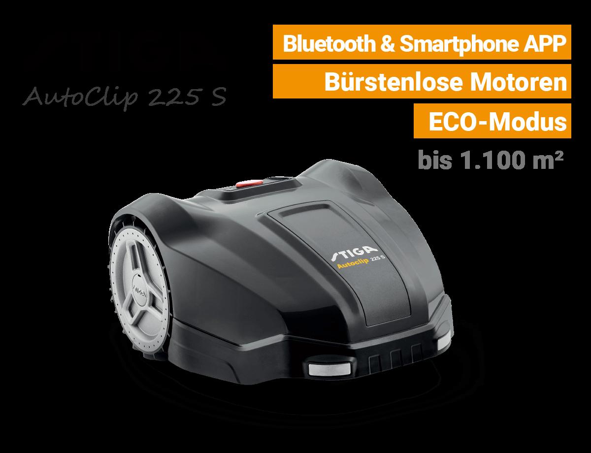 Stiga AutoClip 225 S Mähroboter