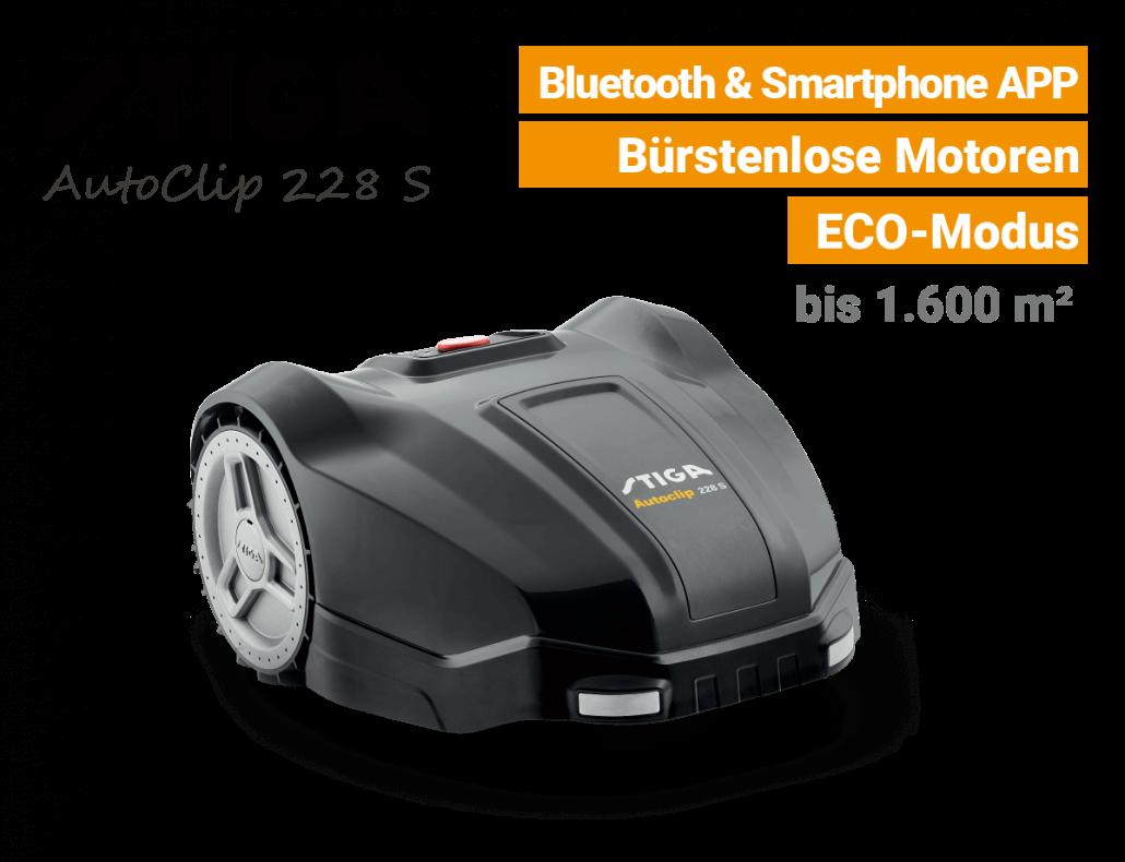 Stiga AutoClip 228 S Mähroboter