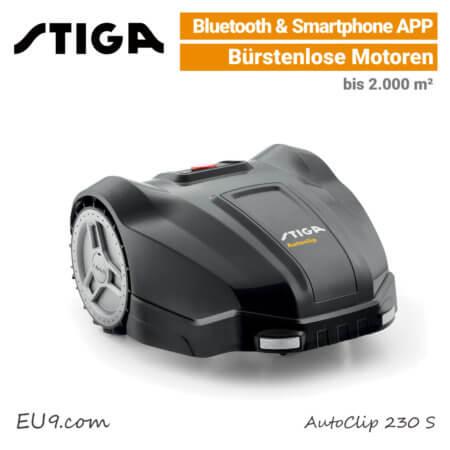 Stiga AutoClip 230 S Rasenroboter EU9