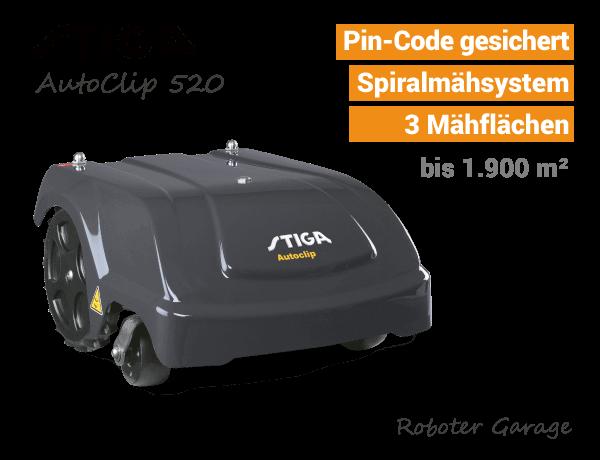 Stiga AutoClip 520 Rasenroboter